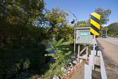 USGS stream gauge at Skippack Pk, Ft Washington