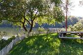 Schuylkill River from the  Philadelphia Canoe Club